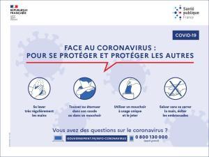 Coronavirus : outils de prévention destinés aux professionnels et au grand public