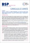 Octobre 2020 - Octobre 2020 - Canicule et santé. Bilan été 2020 Pays de la Loire (Bulletin de BSP. Bulletin de Santé Publique Pays de la Loire, Octobre 2020 [20/10/2020])