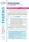 N°1 - 23 septembre 2021 - Santé mentale en région Pays de la Loire. Point épidémiologique bimestriel du 23 septembre 2021 (Bulletin de Santé mentale. Point épidémiologique Pays de la Loire bimestriel, N°1 [23/09/2021])