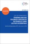 Epidémiologie des violences conjugales en France et dans les pays occidentaux. Synthèse bibliographique 2013, mise à jour en 2016