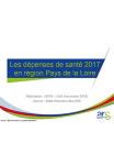 Les dépenses de santé 2017 en Pays de la Loire