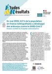 N°1167 - Octobre 2020 - En mai 2020, 4,5 % de la population vivant en France métropolitaine a développé des anticorps contre le SARS-CoV-2 : Premiers résultats de l'enquête nationale EpiCov (Bulletin de Etudes et Résultats, N°1167 [09/10/2020])