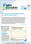 N°1083 - Octobre 2018 - Les femmes vivent neuf mois de plus en bonne santé en 2017 (Bulletin de Etudes et Résultats, N°1083 [02/10/2018])