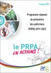 Programme régional de prévention des addictions (PRPA) 2019-2022. Le PRPA en actions !