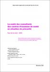 La santé des consultants des centres d'examens de santé en situation de précarité. Pays de la Loire - 2000. Etude réalisée dans le cadre du Programme d'accès à la prévention et aux soins pour les personnes en situation de précarité (PRAPS 2003-2004)