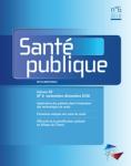 Vol. 30, N°6 - Novembre-Décembre 2018 (Bulletin de Santé Publique, Vol. 30, N°6 [01/04/2019])
