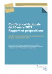 Conférence nationale du 26 mars 2021. Rapports et propositions. Objectifs pluriannuels de professionnels de santé à former (2021-2025)
