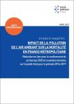 Impact de pollution de l'air ambiant sur la mortalité en France métropolitaine. Réduction en lien avec le confinement du printemps 2020 et nouvelles données sur le poids total pour la période 2016-2019